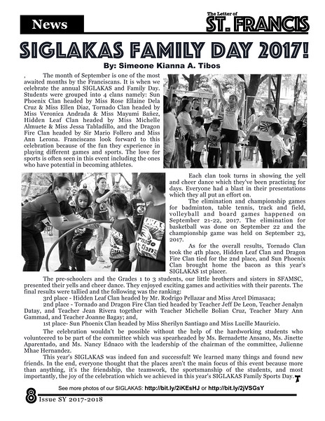 Letter of St. Francis Newsletter Issue 1 SY 2017-2018 Page 08