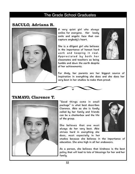 SFAMSC Yearbook SY 2012-2013