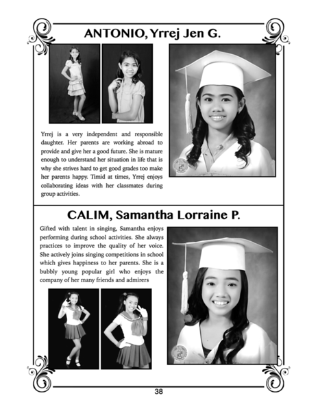 SFAMSC Yearbook SY 2013-2014
