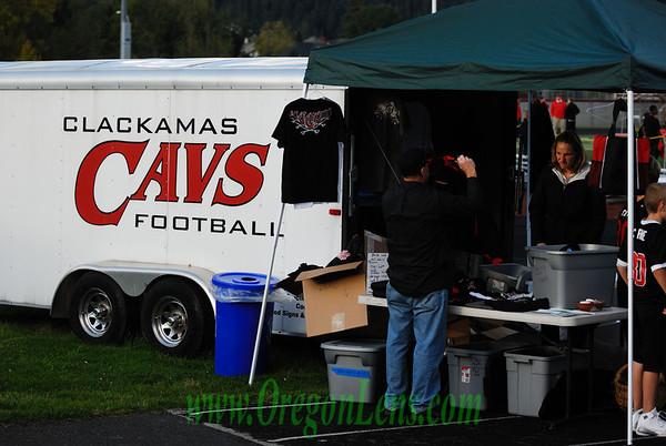 Clackamas Varsity FB vs. OC 10-2-09