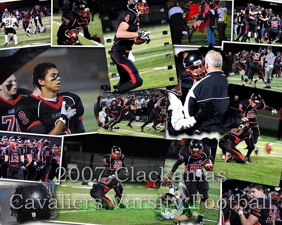 Clackamas Varsity Football Collage '07