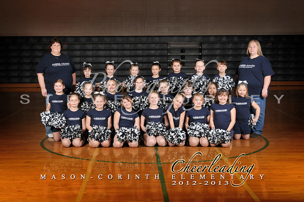 MCE Cheerleaders 2012-13