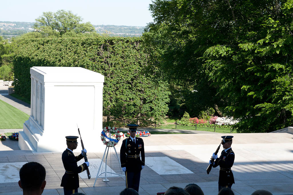 Changing of the guard - Tomb of the Unknowns, Arlington National Cemetary