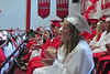 Jack Guerino/ North Adams Transcript<br /> The Mt. Greylock Regional High School class of 2013 applauds speeches given by fellow classmates and teachers during graduation Saturday.