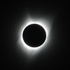 The Aug. 21, 2017 solar eclipse seen in totality, from above Willamette University in Salem, Ore.