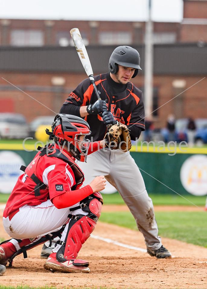 Marshfield Varsity Baseball 2016-17