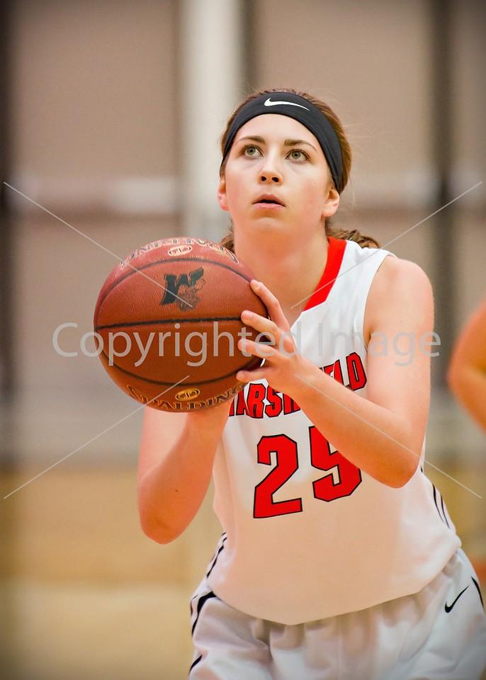 Marshfield Girls' Basketball 2017