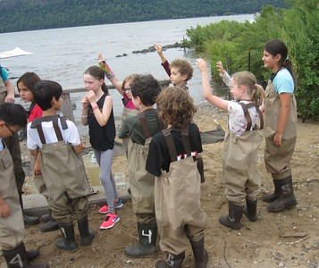 EC Third Graders at Beczak Environmental Center