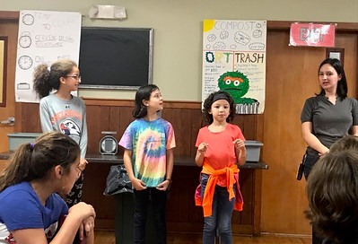 FL Fifth Graders at Nature's Classroom