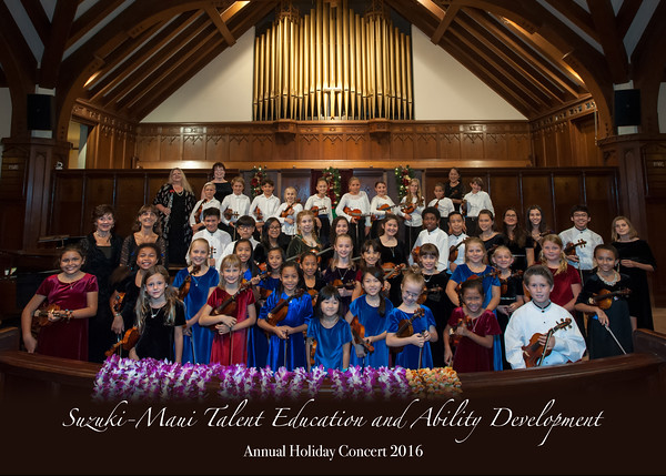 2016 Suzuki Maui Holiday Concert