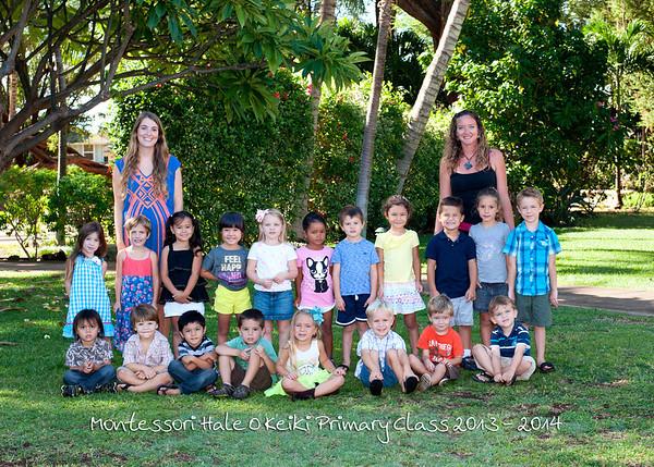 MHOK Primary Class School Photo 2013 - 2014