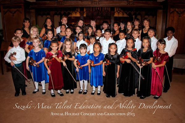 Suzuki Maui Holiday Concert