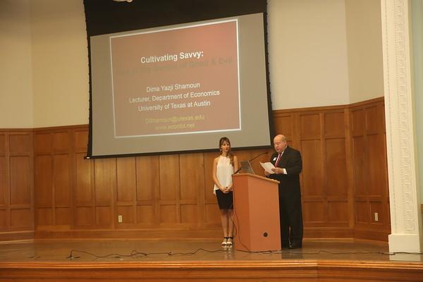 Charles Koch Foundation Lecture Series - Dima Shamoun