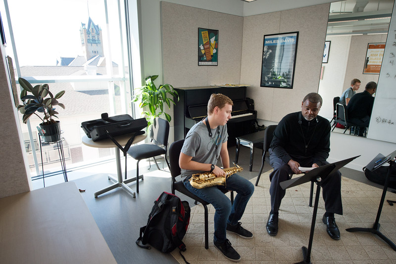 School of Music - Damani Phillips