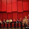 Voxman Music Building ribbon cutting