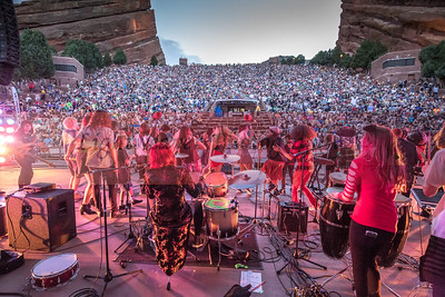 Littleton House Band Red Rocks 2016