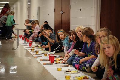 11-21-16 1st grade Thanksgiving Feast (Class of 2028)-37