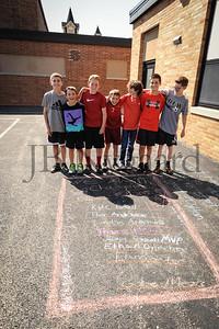 5-24-16 5th grade sidewalk chalk (Class of '23 - Erik's class)-64
