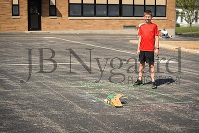 5-24-16 5th grade sidewalk chalk (Class of '23 - Erik's class)-47