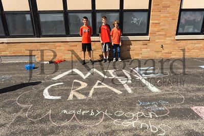 5-24-16 5th grade sidewalk chalk (Class of '23 - Erik's class)-68