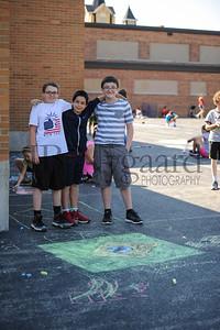 5-24-16 5th grade sidewalk chalk (Class of '23 - Erik's class)-38