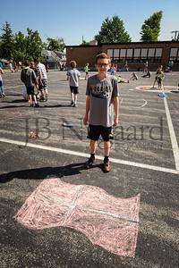 5-24-16 5th grade sidewalk chalk (Class of '23 - Erik's class)-69