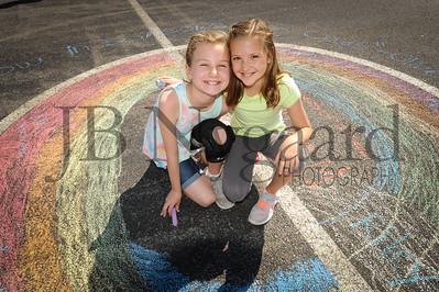 5-24-16 5th grade sidewalk chalk (Class of '23 - Erik's class)-72