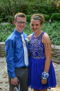 9-23-17 Evan Madden and Brenna Kindle - Freshman Homecoming-9