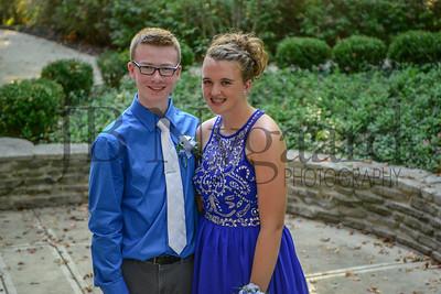 9-23-17 Evan Madden and Brenna Kindle - Freshman Homecoming-7