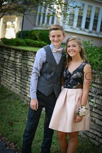 9-23-17 Eden Nygaard and Bella Basinger Freshman Homecoming -14
