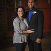 4-21-18 Kaleb Jefferson (Senior) with mom Jaime Hoffer-9