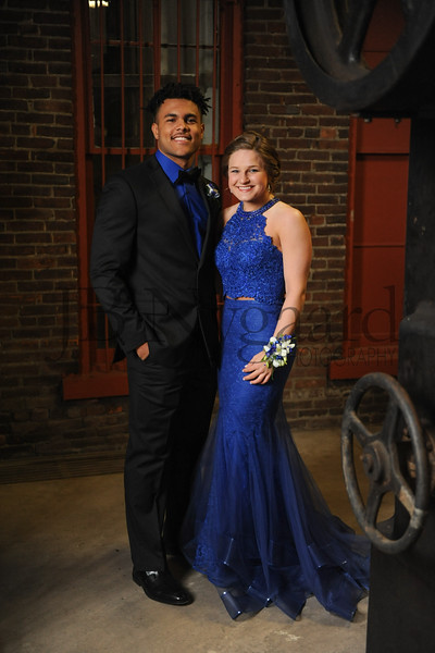 4-21-18 Kaleb Jefferson and Karis Wilson (Seniors) BHS Prom-9