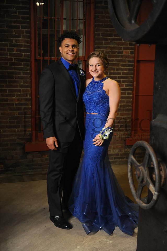 4-21-18 Kaleb Jefferson and Karis Wilson (Seniors) BHS Prom-6