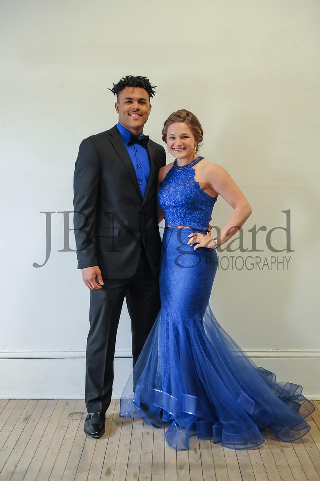 4-21-18 Kaleb Jefferson and Karis Wilson (Seniors) BHS Prom-2