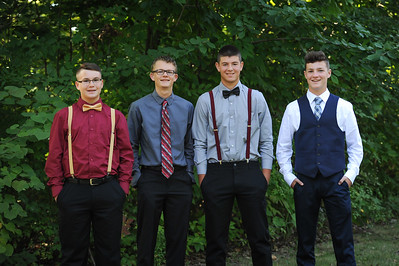 9-29-18 Bluffton HS HOCO  - Adam Fredritz, Eli Lemley, Nic Essinger, Josh Mehaffie - 10th grade-5