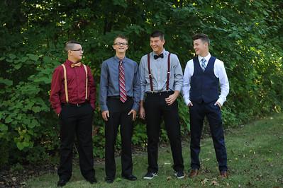 9-29-18 Bluffton HS HOCO  - Adam Fredritz, Eli Lemley, Nic Essinger, Josh Mehaffie - 10th grade-1