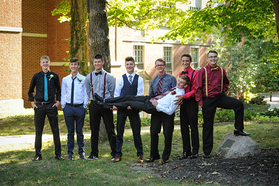 9-29-18 Bluffton HS Homecoming - Eden Nygaard and friends - 10th grade (Class of 2021)-3