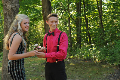 9-29-18 Bluffton HS Homecoming - Clara Matthews and Collin Oglesbee - 10th grade-14