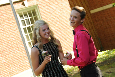 9-29-18 Bluffton HS Homecoming - Clara Matthews and Collin Oglesbee - 10th grade-12