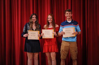 5-14-21 Bluffton High School - Academic Awards Program-20