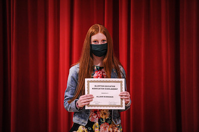 5-14-21 Bluffton High School - Academic Awards Program-28