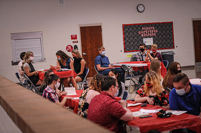 5-14-21 Bluffton High School - Academic Awards Program-9