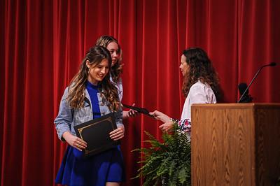 5-14-21 Bluffton High School - Academic Awards Program-22