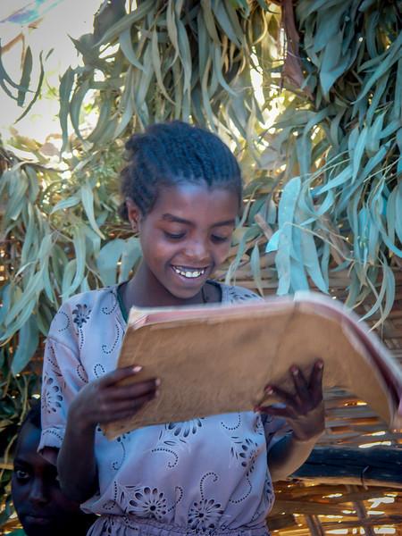 How I love reading!