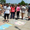This year, Pennridge Sidewalk Chalk Day doubled the amount of students who participated from last year's attendance. Debby High — For Montgomery Media