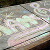Pennridge High School spirit is shown during Sidewalk Chalk Day held Thursday, May 28. Debby High — For Montgomery Media