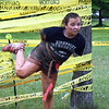 Sierra Boyle maneuvers her way through the Mission Impossible challenge. Debby High — For Montgomery Media