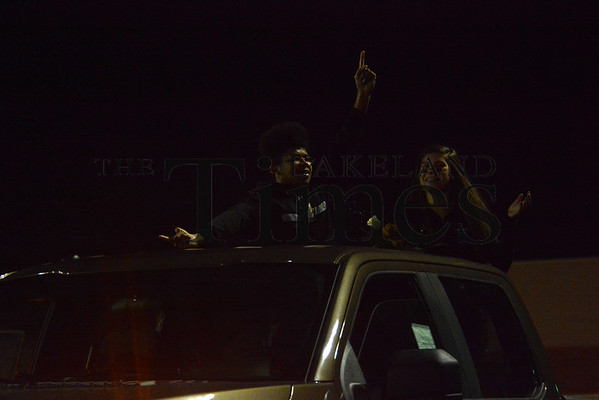 10-9-15 LUHS Homecoming Court Truck Parade