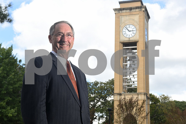Dr. Rodney Mabry is retiring after serving 18 years as the President of the University of Texas at Tyler.   (Sarah A. Miller/Tyler Morning Telegraph)