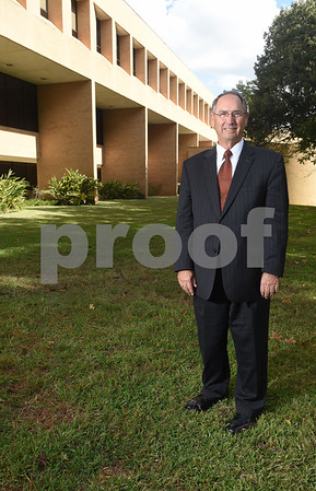 Dr. Rodney Mabry is pictured on campus Tuesday Oct. 18, 2016. Mabry is retiring after serving 18 years as the President of the University of Texas at Tyler.   (Sarah A. Miller/Tyler Morning Telegraph)